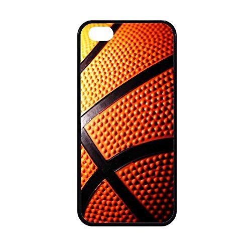 Sublimation 2D - Carcasa para teléfono móvil fabricada en goma TPU modelo pelota de baloncesto - Máxima protección IPHONE 5/5S STICKER BOMB