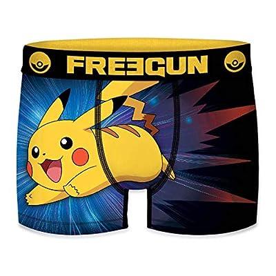 FREEGUN Bóxer para Pokemon Pikachu (XL, Pikachu 01) de