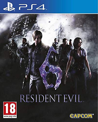 ps4 - Resident Evil 6 - Remastered (1 Games)