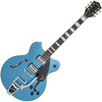 Gretsch Streamliner Center Block Riviera Blue w/Bigsby & Broad'Tron Pickups