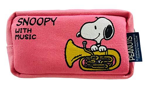 SNOOPY with Music スヌーピー マウスピースポーチ 限定品《コットンキャンディピンク》 (ユーフォニアム)