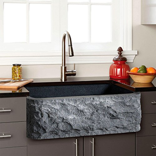 Signature Hardware Single Basin Granite Composite Farmhouse Sink