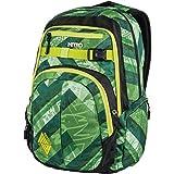 Nitro Chase Rucksack, Schulrucksack mit Organizer, Schoolbag, Daypack mit 17 Zoll Laptopfach, Wicked Green, 35L