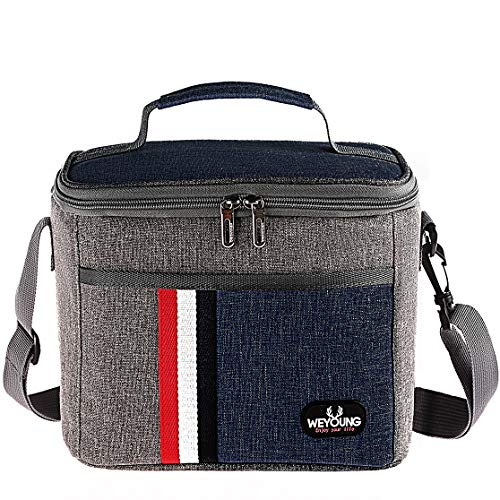 Lunch Box Insulated Lunch Bag Large Cooler Leakproof Lunchbox Container for Adult Kid Women and Men