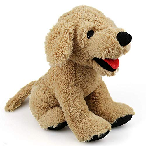 LotFancy Peluche Perro Golden Retriever 30,5cm, Peluches