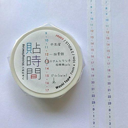貼時間(ハルジカン)タテカラー2個組 HJ-02