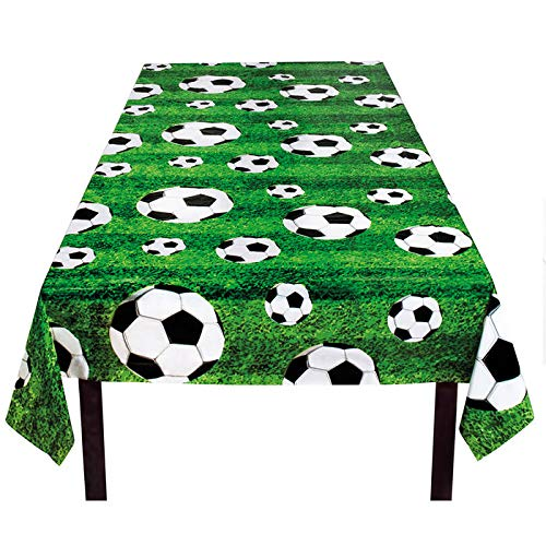 PARTY DISCOUNT Tischdecke Fußball-Star, 120x180cm