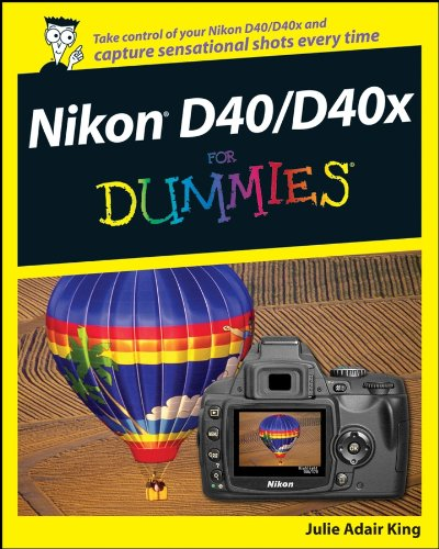 Nikon D40/D40x For Dummies (English Edition)