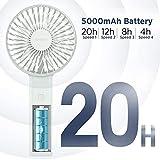 Zoom IMG-1 ventilatore usb portatile easyacc 5000mah