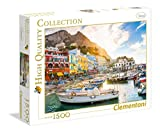 Clementoni- Collection: Capri Los Pingüinos De Madagascar Puzzle, 1500 Piezas, Multicolor (31678)