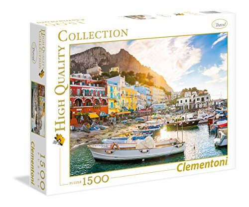Clementoni- Capri High Quality Collection Puzzle, 1500 Pezzi, 31678