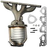 MAYASAF Catalytic Converter w/Exhaust Manifold & Gasket for 2004-08 Chevy Malibu 2.2L/2.4L, 2006-08...