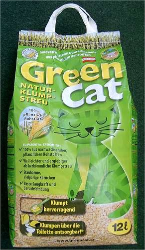 Corn Cat Lettiera Granuli Naturali da 12 Lt