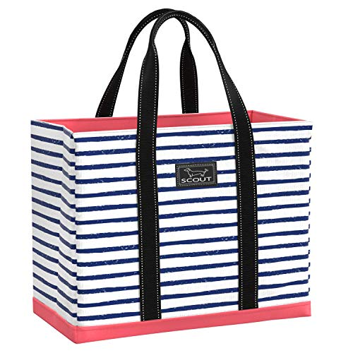 SCOUT Original Deano Tote, Large Utility Tote Bag for Women, Extra Large, Lightweight, Water Resistant Travel Beach Bag, and Pool Bag with Collapsible, Foldable Design Featured in Ship Shape