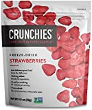 Crunchies Crispy 100% All Natural Freeze-Dried Fruits, 0.8 Ounce (6 Snack Pack) (Strawberries)