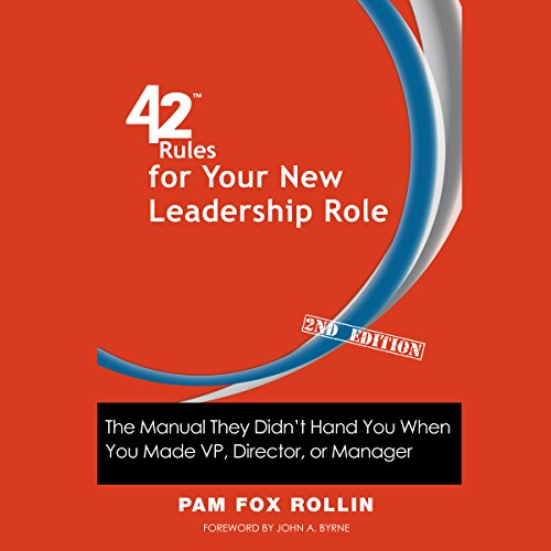 42 Rules for Your New Leadership Role, 2nd Edition audiobook cover art
