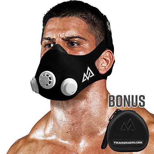 Trainingsmaske 2.0 Workout, Fitness-Maske für Lauf- und Atemwiderstandstraining, Leistungserhöhungs-Maske, Cardio-Maske, Ausdauermaske für Fitness