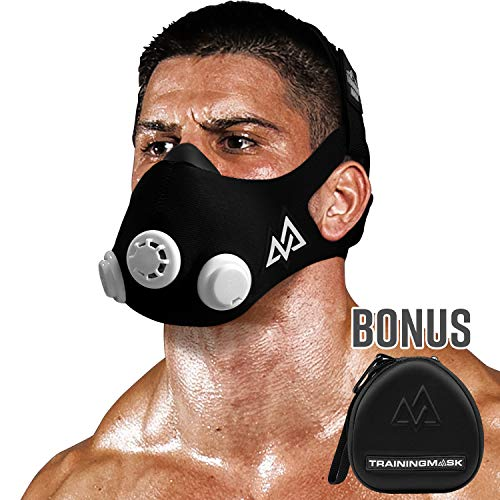 Training Mask 20 Workout Fitness Mask for Running and Breathing Resistance Training Elevation Mask Cardio Mask Endurance Mask for Fitness