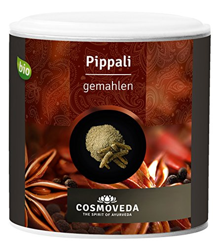 Cosmoveda Bio Pippali (langer Pfeffer), gemahlen, 100 g