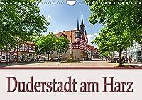 Duderstadt am Harz (Wandkalender 2022 DIN A4 quer): Duderstadt liegt im Landkreis Goettingen im suedoestlichen Niedersachsen. (Monatskalender, 14 Seiten )