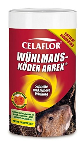 Celaflor Wühlmausköder Arrex 250 gr.