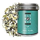 'Smiling Buddha' Dose, Bio Ingwer-Zitrone Grüner Tee Lose mit Zitronengras, (ca. 40 Tassen) 100 Gramm von alveus Premium Teas