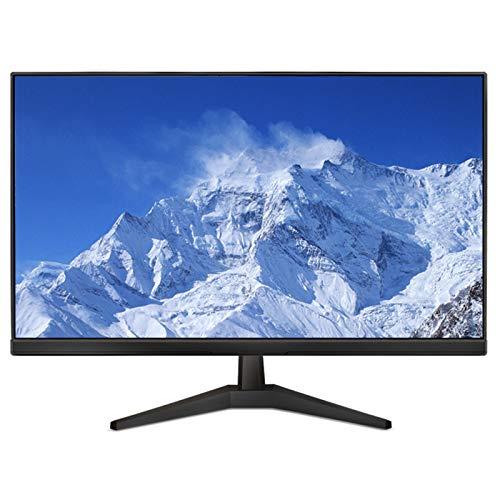 YILANJUN Monitor de Juegos LED 24 Pulgadas, HD 1080P (1920 × 1080), 75 Hz, HDMI+VGA, Panel VA Ángulo, 5 ms, Montado Pared, Ángulo Visión Amplio 178°, para Cibercafés Salas Estar Oficinas
