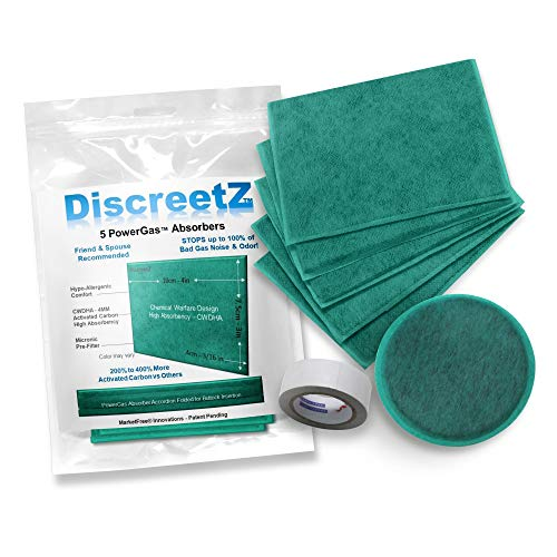 Heavy-Duty Fart Eliminators! Smell & Sound Fart Pad Absorbers. Loud Farting Solution. Fart Odor & Noise Eliminator, Absorber, Deodorizer, Neutralizer, Filter, Fart Silencer & Anti-Gag Gift 7-Pack