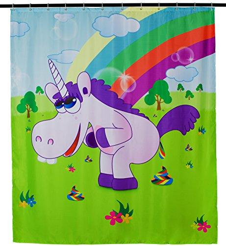 Duschvorhang Drunky Unicorn 200 x 180 cm