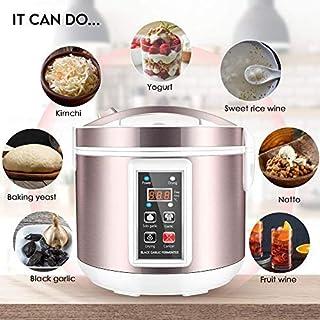 comprar comparacion 4YANG Fermentador de ajo Negro 5L Fabricante de AjosHealth Food Maker Control Inteligente Completamente automático Cocina ...