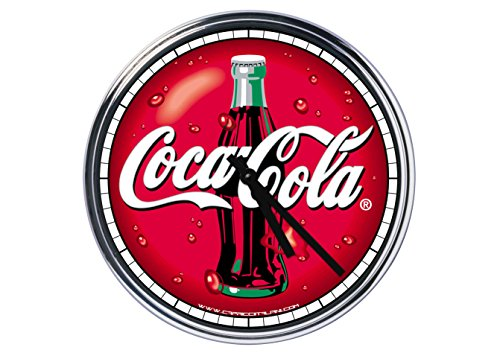 Capricci Italiani Acier Horloge Murale Coca Cola 2