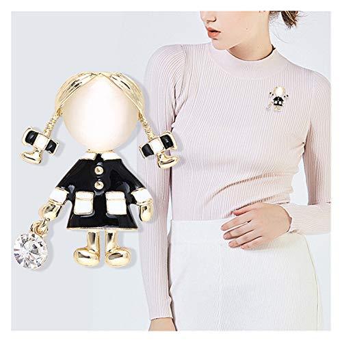 JSJJARD broche Kleine Leuke Meisje Broches voor Vrouwen Mode Gift en Broche Pin NIEUWE Jurk Jas Accessoires
