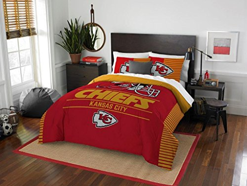 Kansas City Chiefs - 3 Piece FULL / QUEEN SIZE Printed...