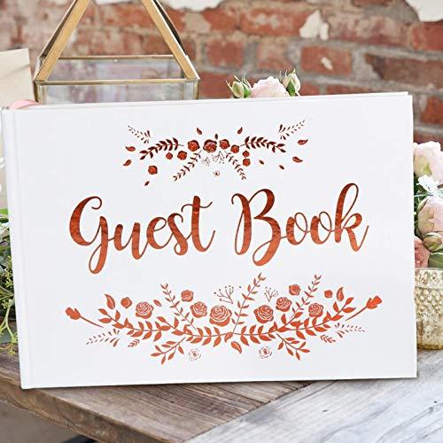 siqiwl Libro de visitas para boda, álbum de visitas, registro de fotos, memoria, libro de visitas, aniversario, baby shower, suministros