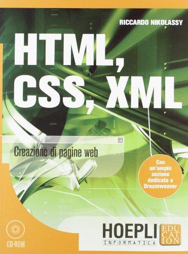 HTML, CSS, XML