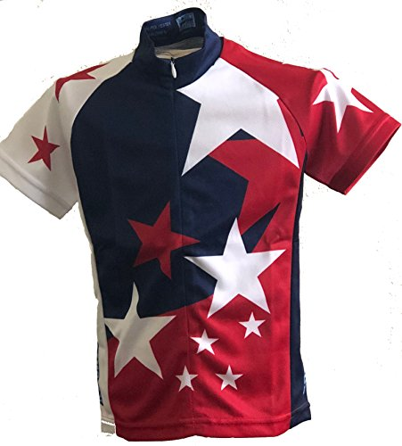 Rocky Mountain Rags Children's Patriotic Jersey (M/Ages 8-10)