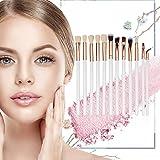 Kagodri Juego de brochas de maquillaje, 12 unidades por set de brochas de maquillaje, brocha de sombra de ojos, cepillo suave y de moda
