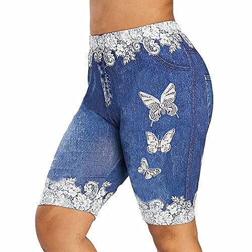 N\P Pantalones cortos cortos de cintura alta para mujeres de verano