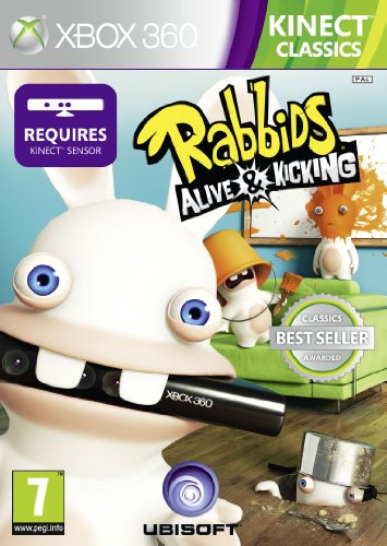 Ubisoft Raving Rabbids Alive & Kicking, Xbox 360 - Juego (Xbox 360,...