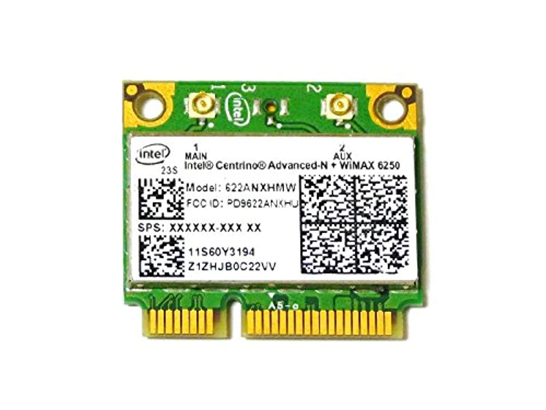 脚傾く天気Lenovo純正 60Y3195 Intel Centrino Advanced-N + WiMAX 6250 300Mbps 802.11a/b/g/n + Wimax 無線LANカード for ThinkPad