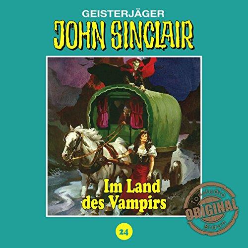 Im Land des Vampirs - Teil 1 (John Sinclair - Tonstudio Braun Klassiker 24) Titelbild