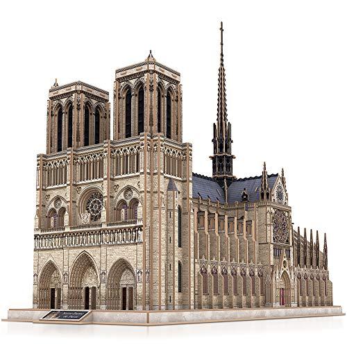 CubicFun Puzzle 3D Francia Notre Dame de Paris Modelo de