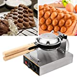 WICHEMI Electric Bubble Waffle Maker Machine Commercial Hong Kong Eggettes Waffle Baker Rotated...