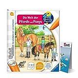 Ravensburger tiptoi Banda De Libro 13 La Welt der Caballos y Ponys + Niños Mapa del mundo - Países, Animales, Continentes