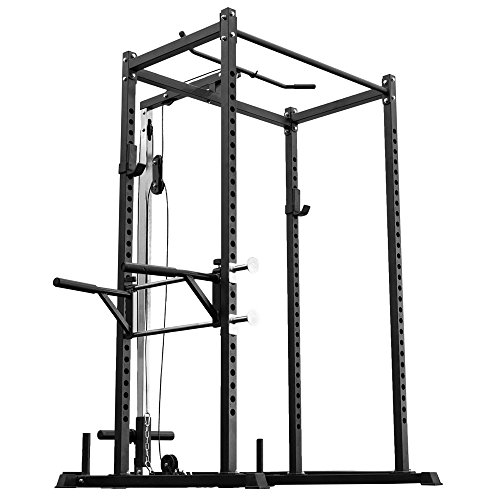 Rep Power Rack – PR-1000 – with LAT Pull-Down...