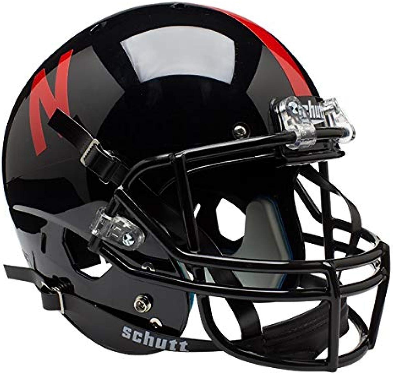 NCAA Nebraska Cornhuskers Replica XP Helmet  Alternate 1 (Black)