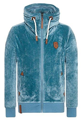 Naketano Male Zipped Jacket Ivic Mack Dusty Blue, S