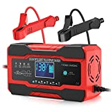 Best Car Battery Chargers - YONHAN Car Battery Charger 12V/10A 24V/5A Smart Automatic Review