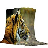 Mantas para Tigre Animal Mantas Franela Fácil De Limpiar - Extra Suave Cálido 150 * 200cm