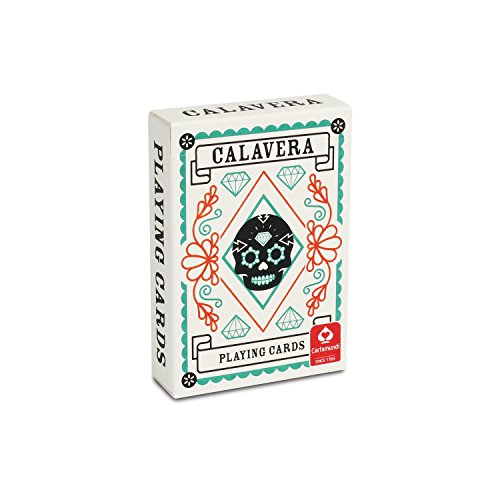 Calavera Sugar Skull Day of the Dead Mexican Playing Cards